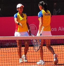 Karen Castiblanco y Mariana Duque